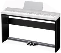 Стойка для цифрового пианино CASIO PX-350, PX-130 и CASIO PX-330, черного цвета