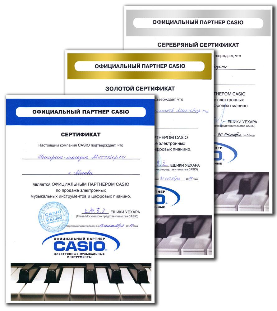 Официальный партнер CASIO