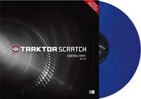 NATIVE INSTRUMENTS Traktor Scratch Pro Control Vinyl Blue