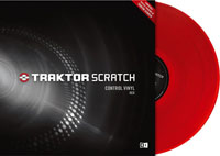 NATIVE INSTRUMENTS Traktor Scratch Pro Control Vinyl Red