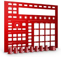 NATIVE INSTRUMENTS Maschine Mk2 Custom Kit Dragon Red