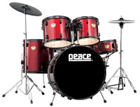 PEACE DP-101BK-22 Wine Red