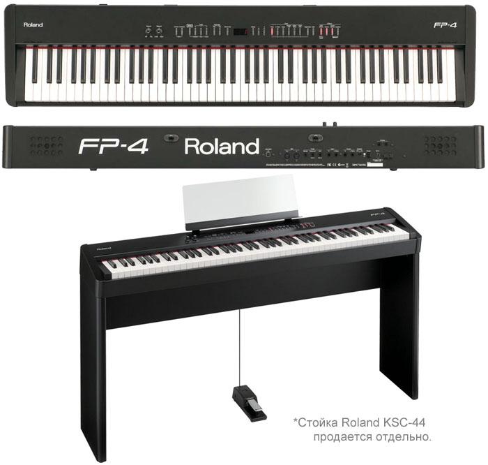 ROLAND FP-4-BK