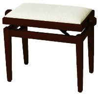 GEWA pure Piano bench FX Cherry tree matt Beige