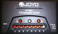 JOYO JT-36C LED chromatic tuner