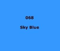 LEE FILTERS 068 Sky Blue/половина листа