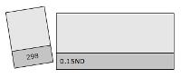 LEE FILTERS 298 0.15ND/половина листа