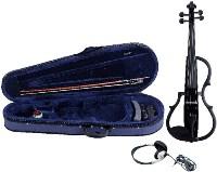 GEWA E-violin Gewa line Black colour finish