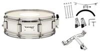"""GEWA Marching Small Drum 14х5"""" White"""